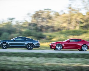 2015 Ford Mustang GT vs 2016 Chevrolet Camaro SS Performance Comparison