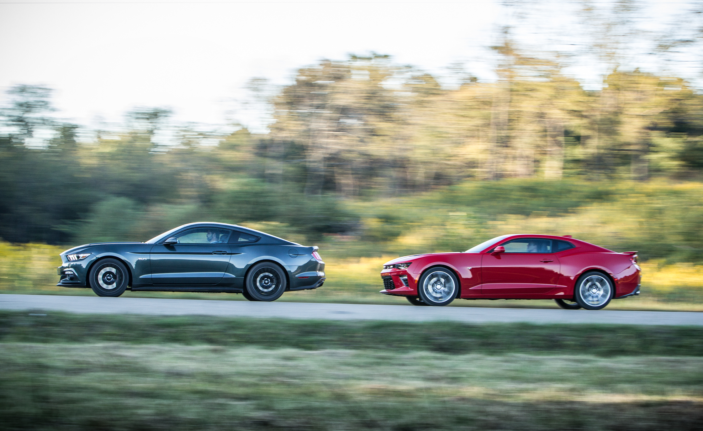 previous photo 2016 chevrolet camaro ss and 2015 ford mustang gt. Cars Review. Best American Auto & Cars Review