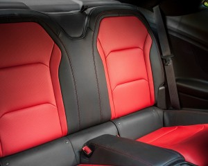 2016 Chevrolet Camaro SS Rear Seats