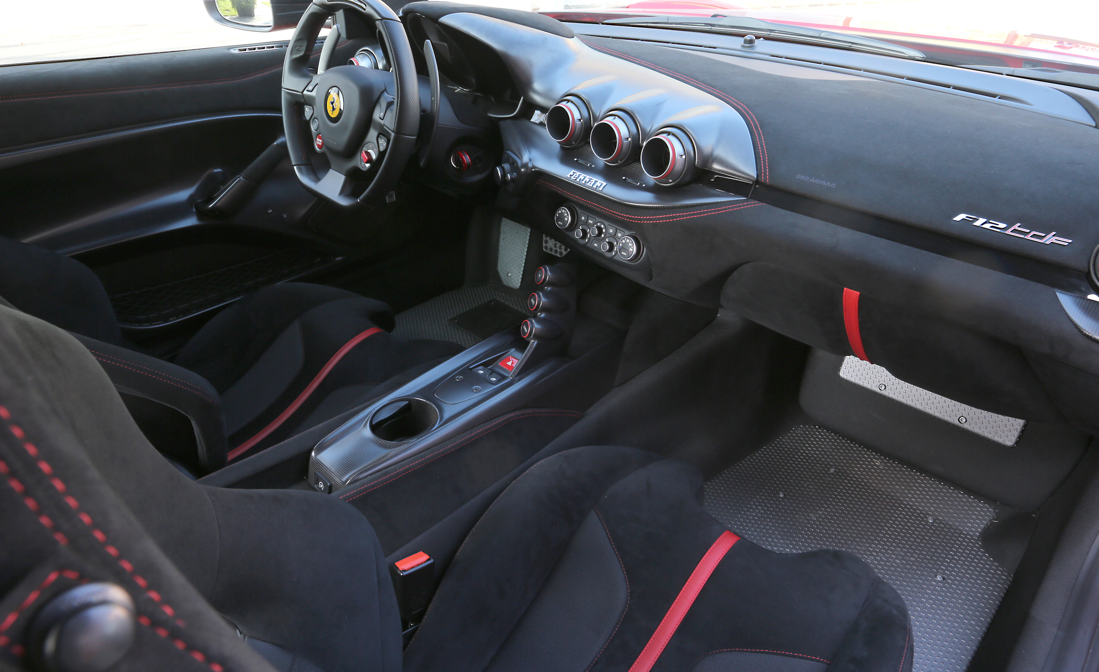 2016 Ferrari F12tdf Dashboard Interior