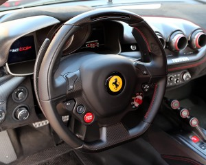 2016 Ferrari F12tdf Steering Wheels