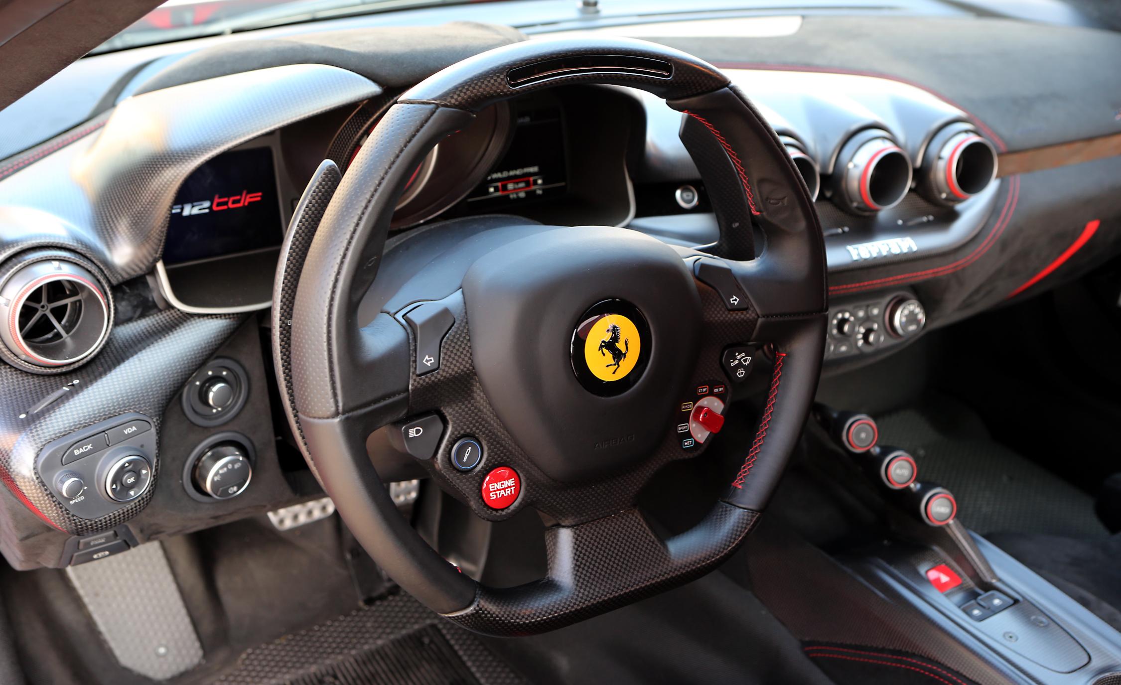 2016 Ferrari F12tdf Steering Wheels