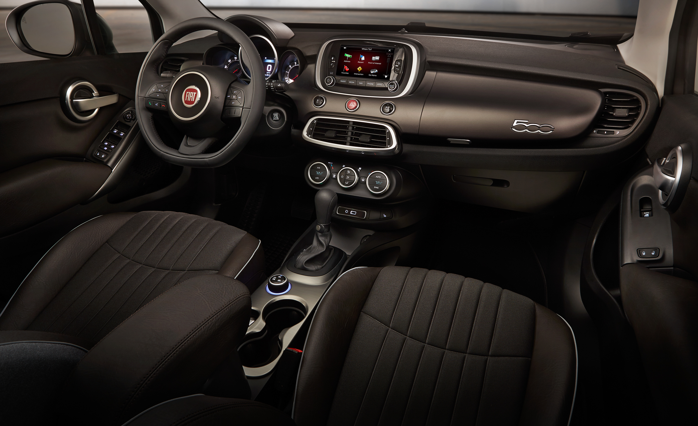 2016 Fiat 500X Lounge Interior Dashboard