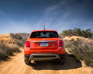 2016 Fiat 500X Trekking Off-Road Rear View