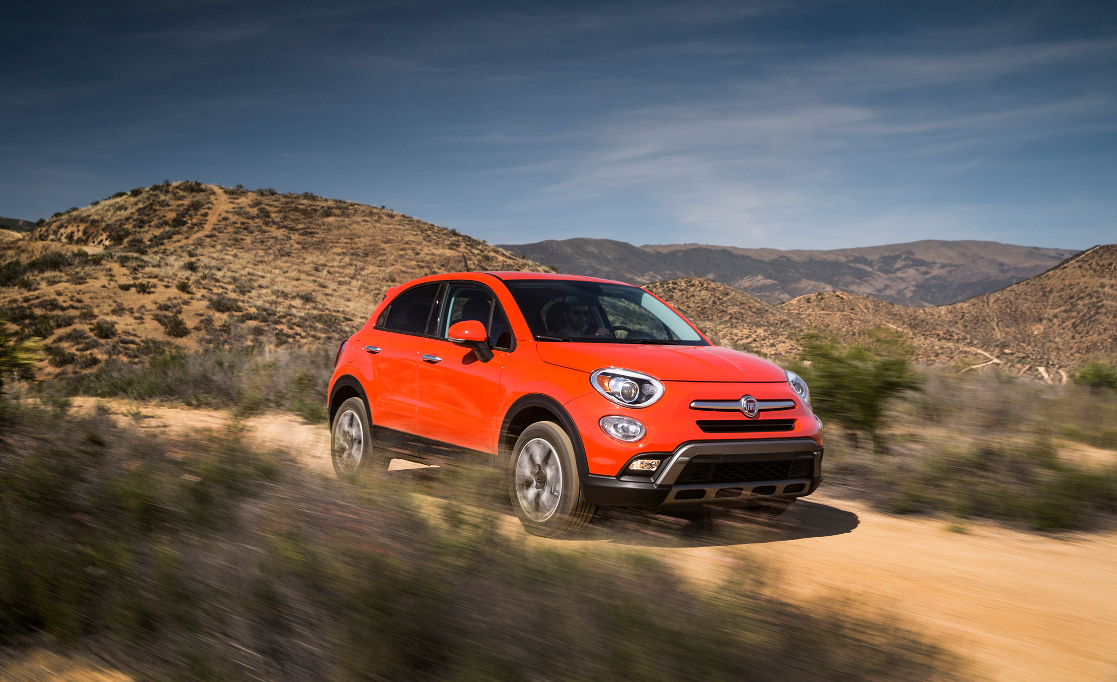 2016 Fiat 500X Trekking Off-Road Test