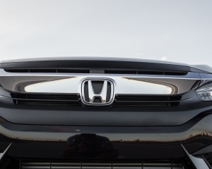 2016 Honda Civic Touring Black Front Badge