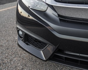 2016 Honda Civic Touring Black Front Lip