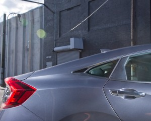 2016 Honda Civic Touring Exterior Tail