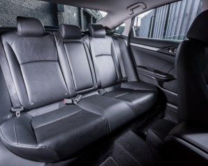 2016 Honda Civic Touring Interior Rear Seats