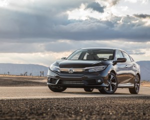2016 Honda Civic Touring Sedan Black