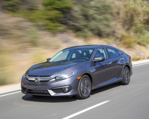 2016 Honda Civic Touring Sedan Grey