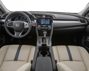 2016 Honda Civic Touring Sedan Interior