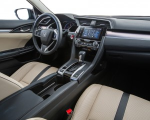 2016 Honda Civic Touring Sedan Interior Dashboard