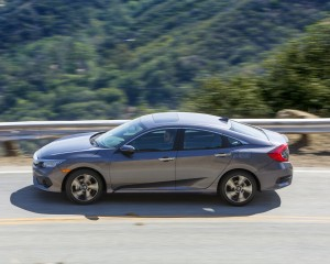 2016 Honda Civic Touring Sedan Performance Test