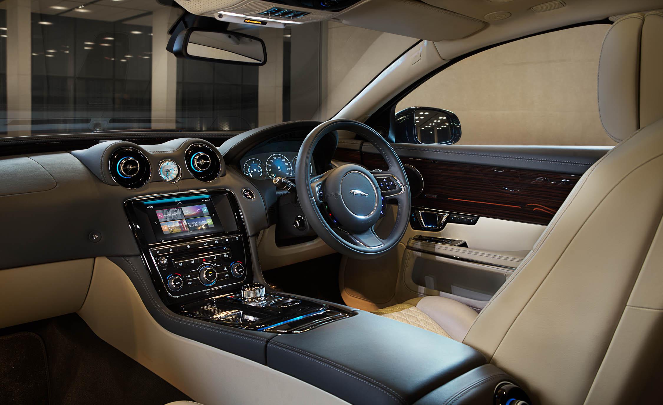 2016 Jaguar XJL Interior Preview
