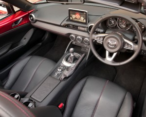 2016 Mazda MX-5 Miata Interior Preview