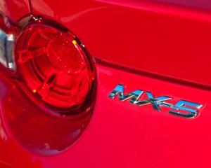2016 Mazda MX-5 Miata Rear Emblem