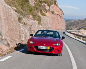 2016 Mazda MX-5 Miata Red Test Drive