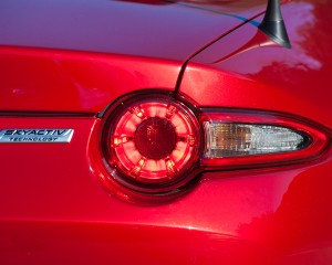 2016 Mazda MX-5 Miata Right Taillight and Emblem