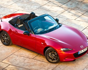 2016 Mazda MX-5 Miata Top View