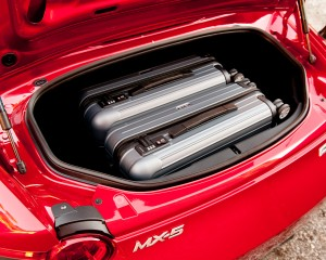 2016 Mazda MX-5 Miata Trunk Capacity