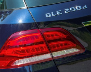 2016 Mercedes-Benz GLE250d 4MATIC Exterior Taillight