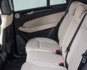2016 Mercedes-Benz GLE250d 4MATIC Interior Rear Seats