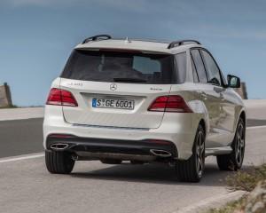 2016 Mercedes-Benz GLE400 4MATIC Exterior Rear