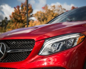 2016 Mercedes-Benz GLE450 AMG Coupe Exterior Grille and Headlamp