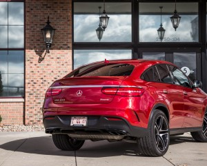 2016 Mercedes-Benz GLE450 AMG Coupe Exterior Rear Side