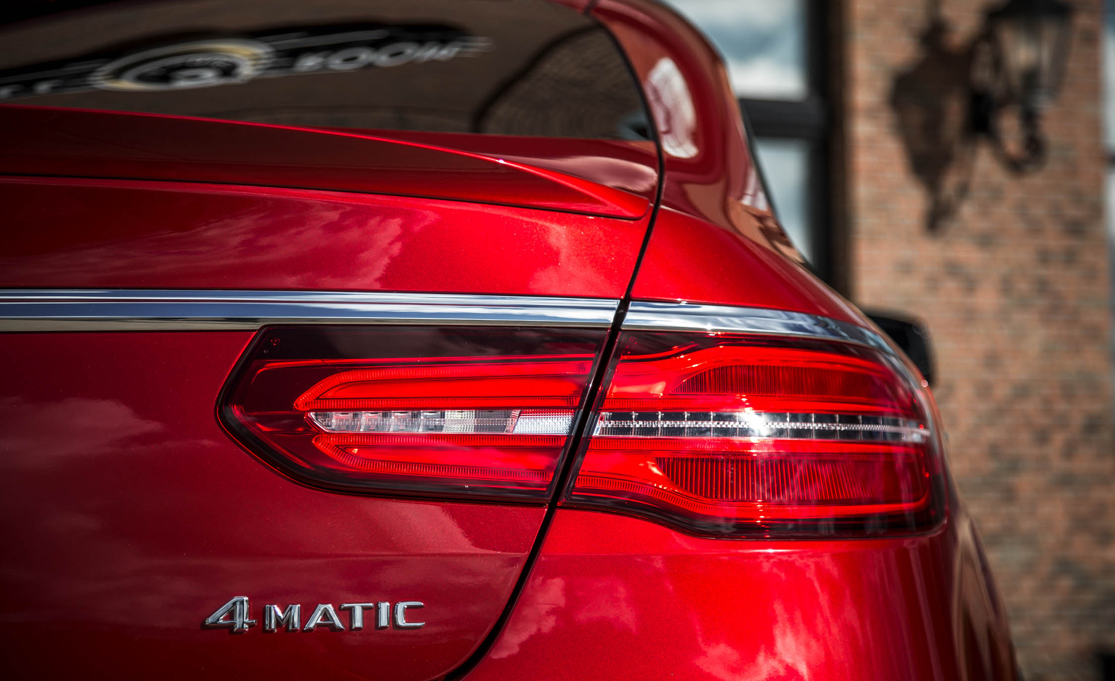 2016 Mercedes-Benz GLE450 AMG Coupe Exterior Right Taillight