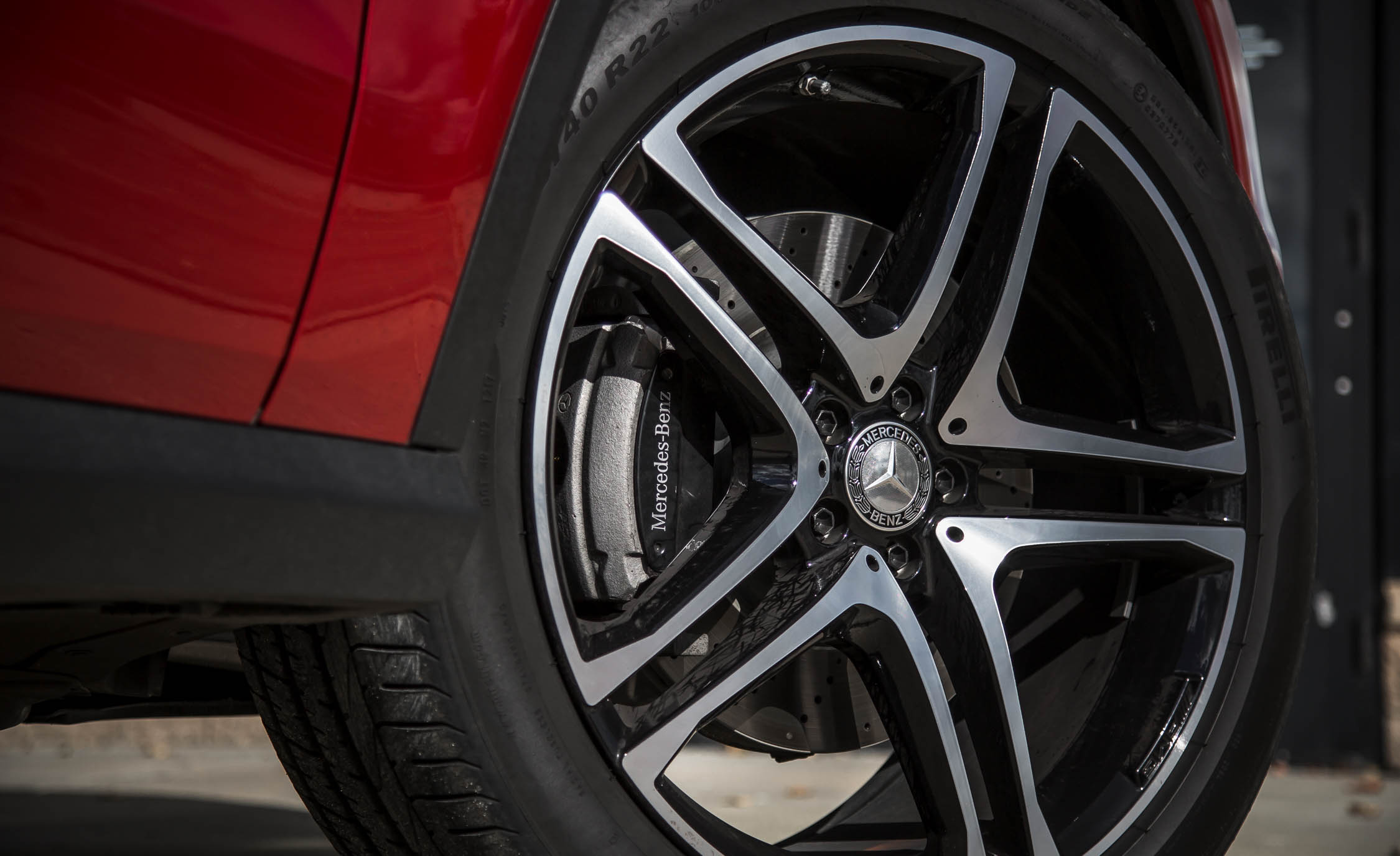 2016 Mercedes-Benz GLE450 AMG Coupe Exterior Wheel Trim