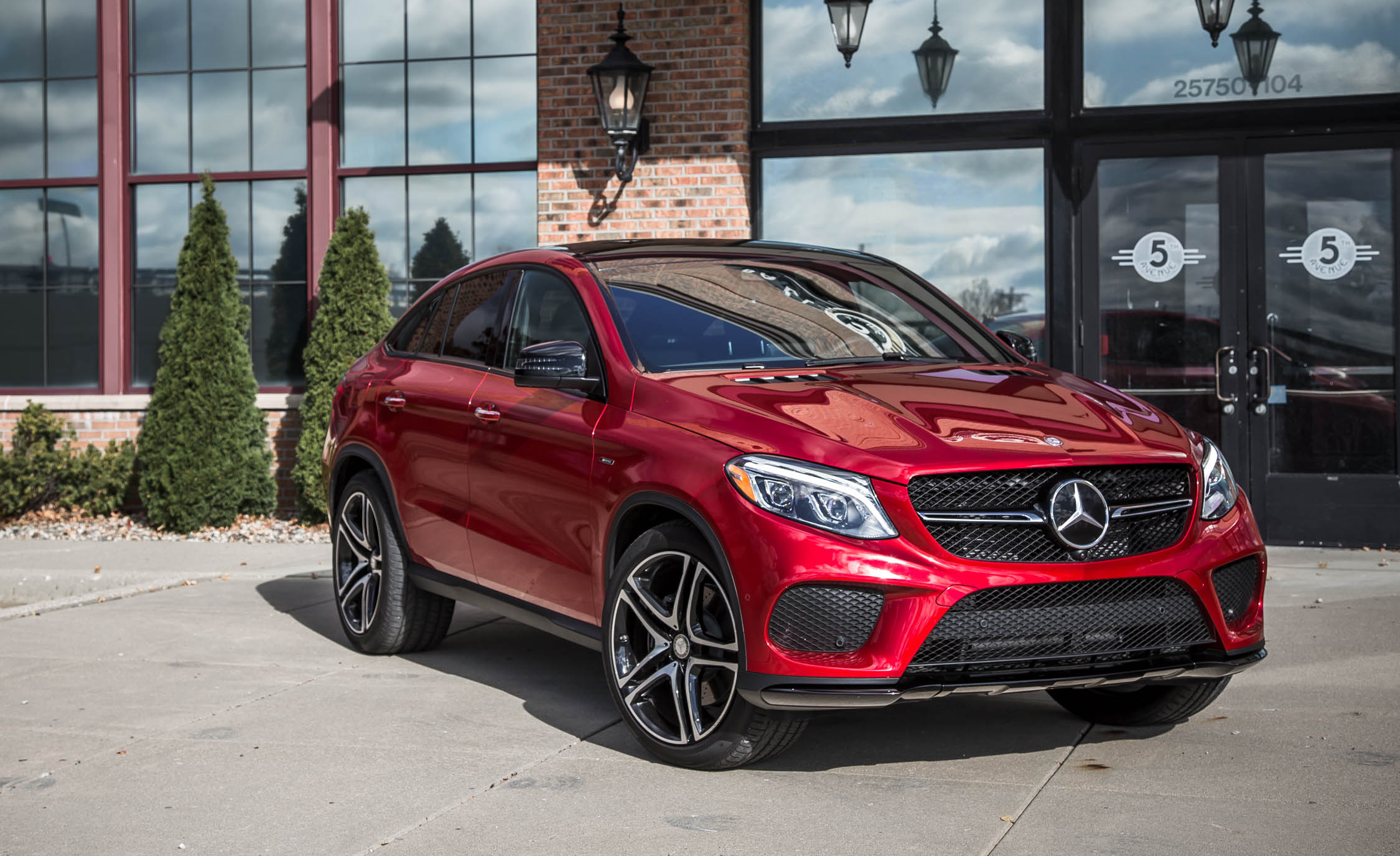 2016 Mercedes-Benz GLE450 AMG Coupe Exterior