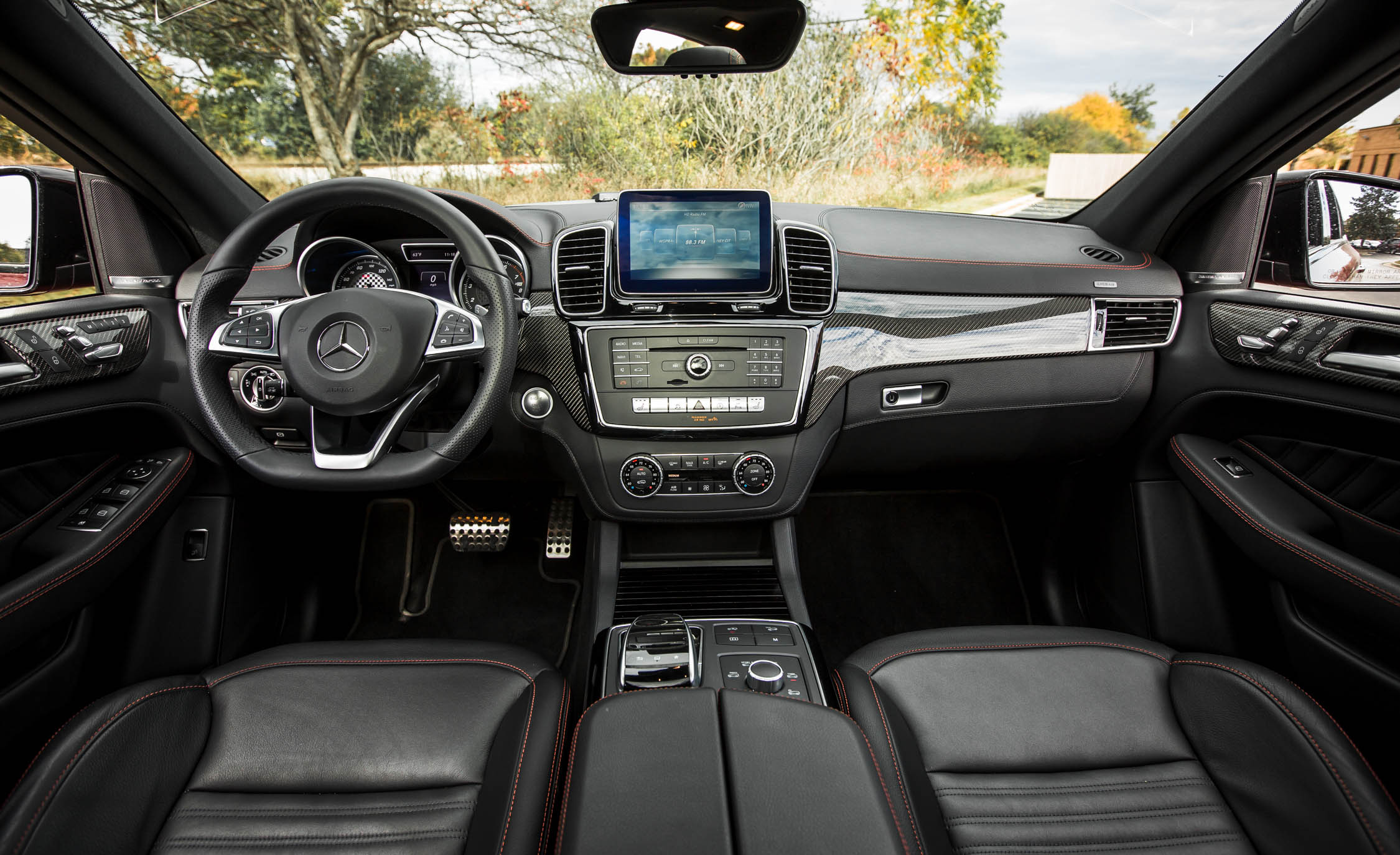 2016 Mercedes-Benz GLE450 AMG Coupe Interior Dashboard