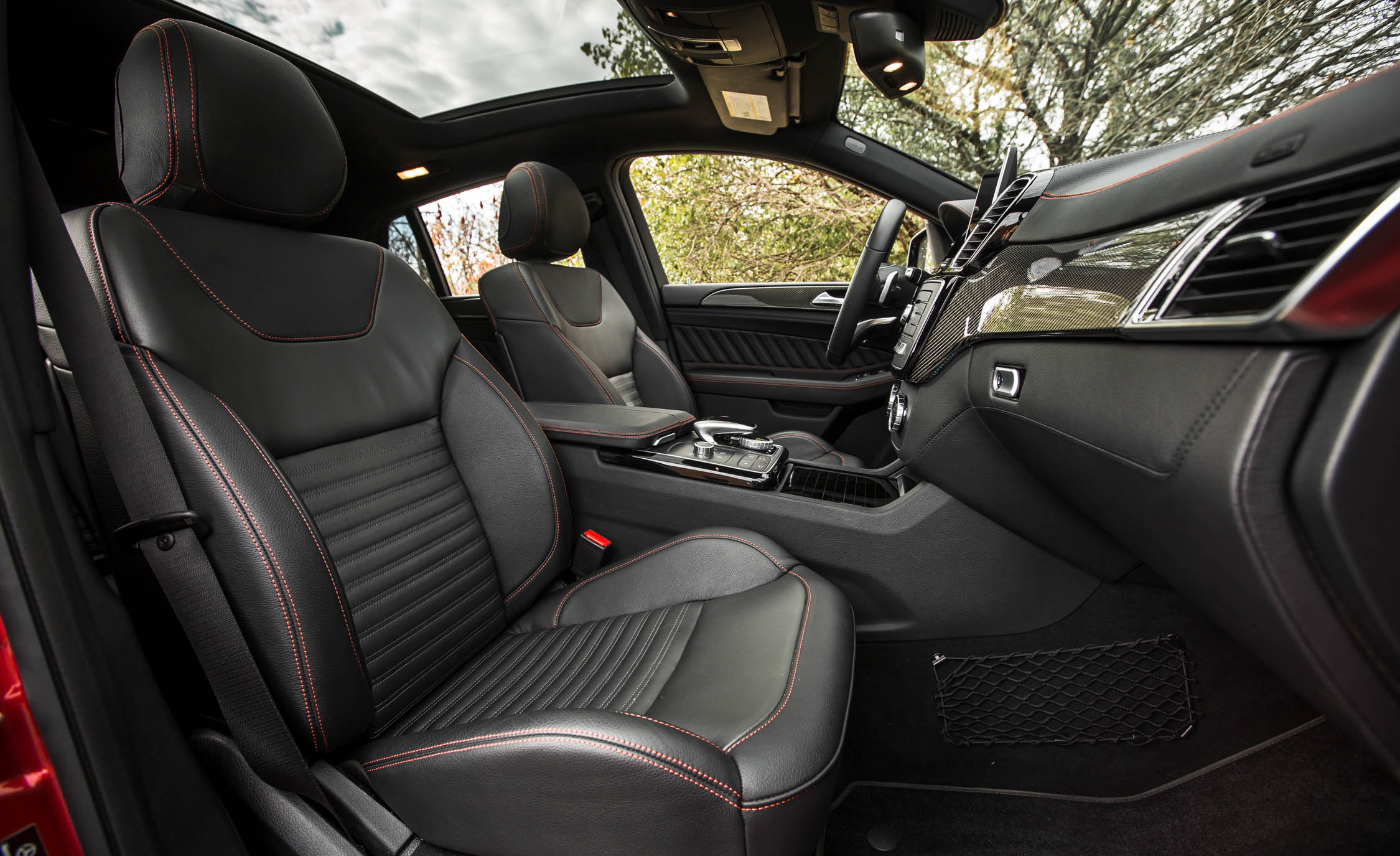 2016 Mercedes-Benz GLE450 AMG Coupe Interior Front Passenger Seat