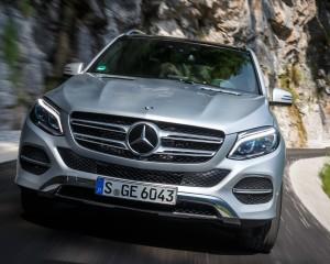 2016 Mercedes-Benz GLE500e 4MATIC Exterior Front