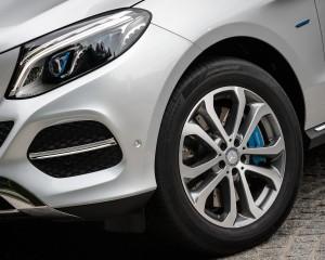 2016 Mercedes-Benz GLE500e 4MATIC Exterior Wheel