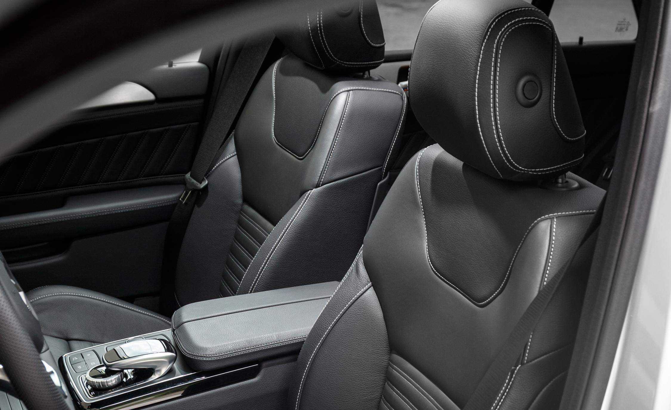 2016 Mercedes-Benz GLE500e 4MATIC Interior Front Seats