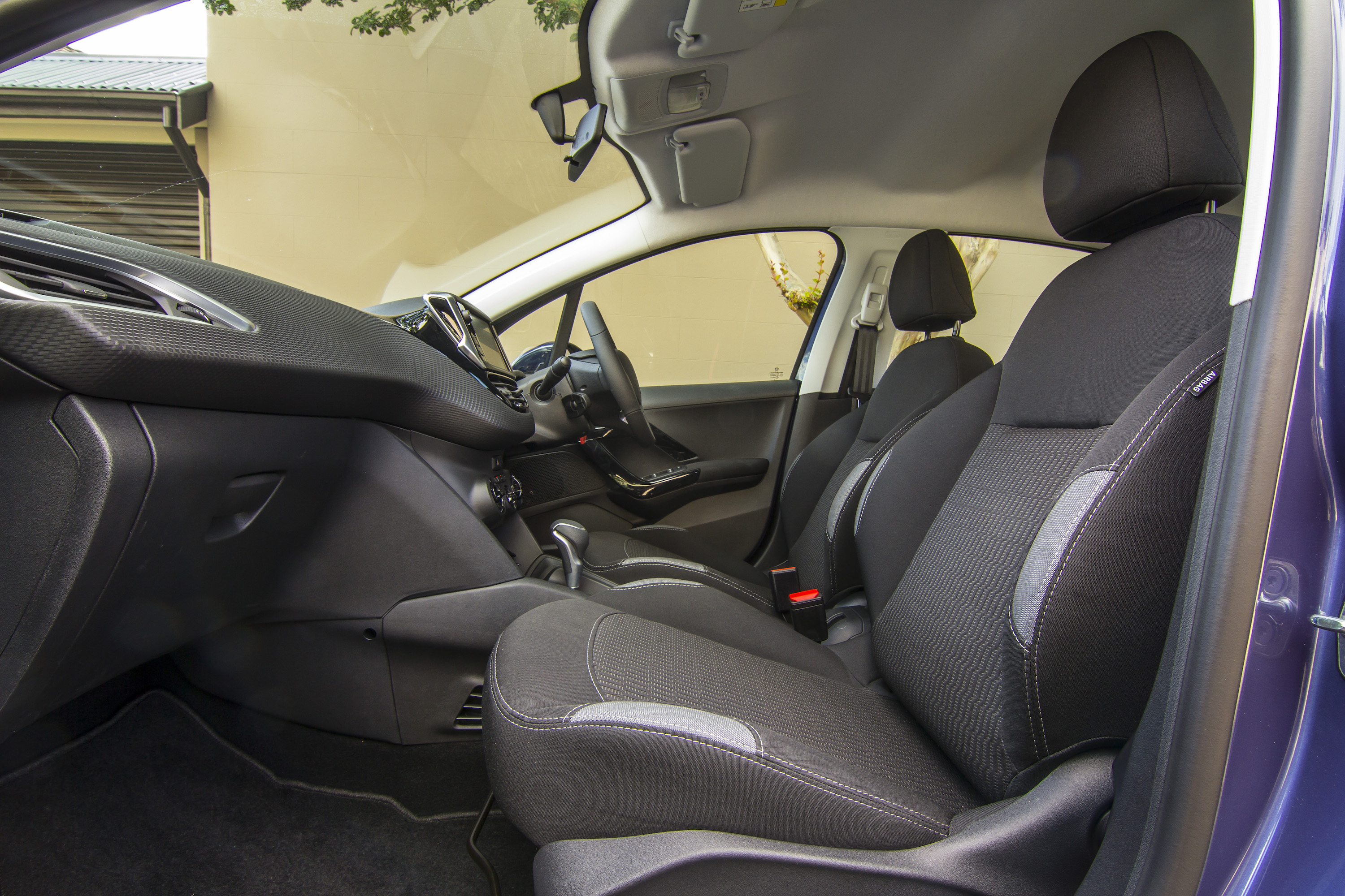 2016 Peugeot 208 Active Front Seats Interior