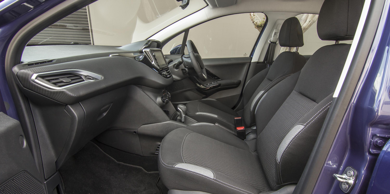 2016 Peugeot 208 Active Interior Seats