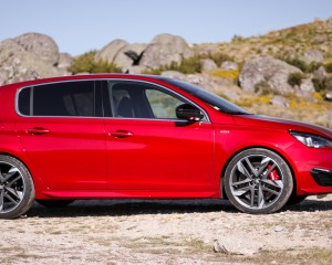 2016 Peugeot 308 GTi Side Exterior Preview