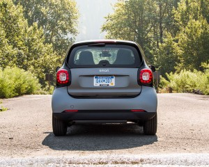 2016 Smart Fortwo Rear End Design