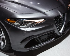 2017 Alfa Romeo Giulia Quadrifoglio Headlamp