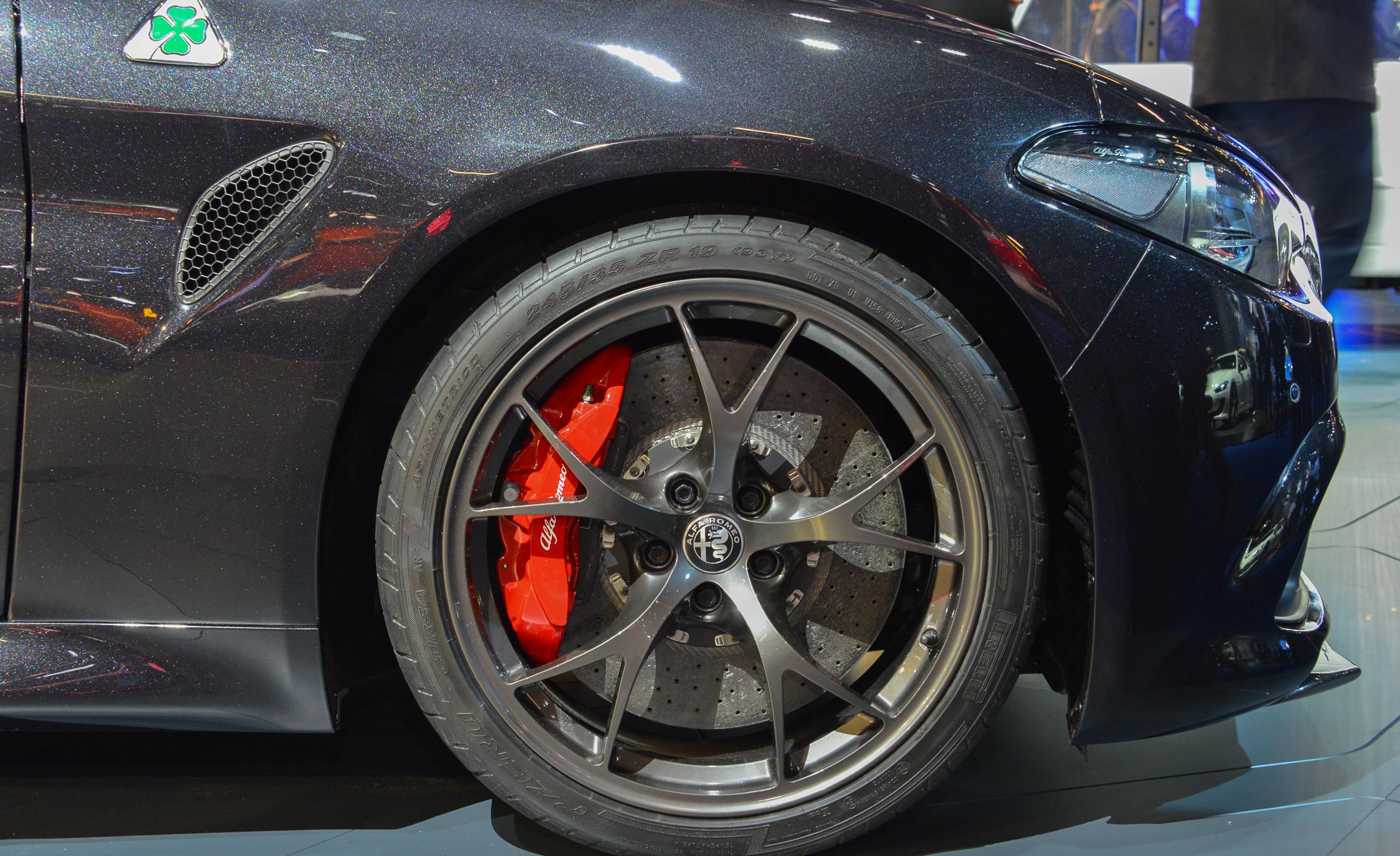2017 Alfa Romeo Giulia Quadrifoglio Wheel Trim