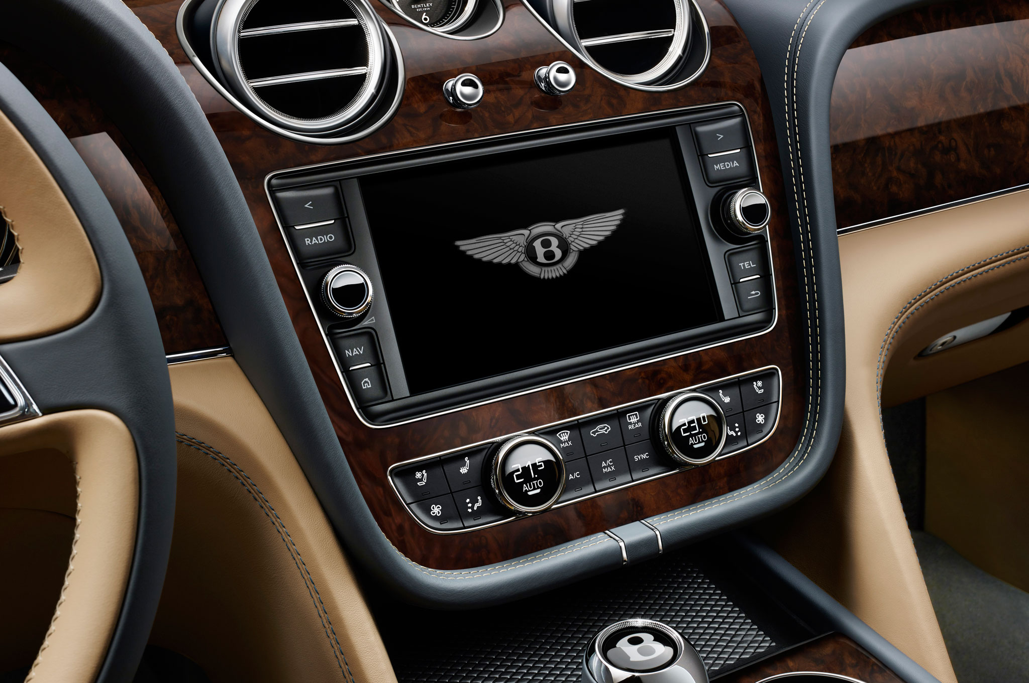 2017 Bentley Bentayga Center Head Unit