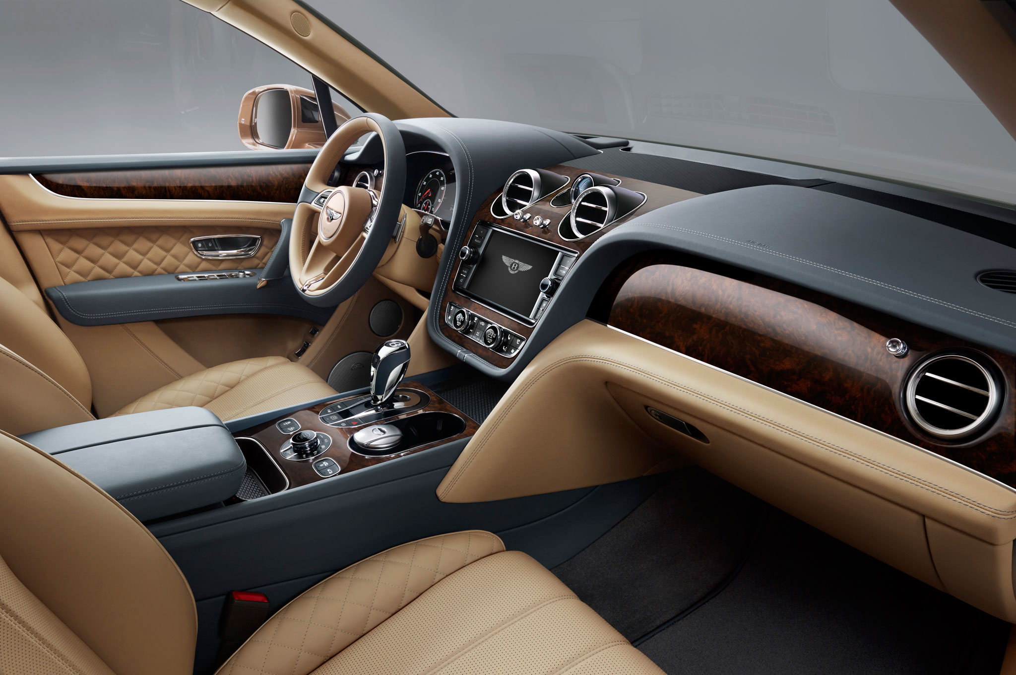 2017 Bentley Bentayga Dashboard Interior