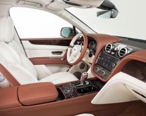 2017 Bentley Bentayga Front Seats Interior