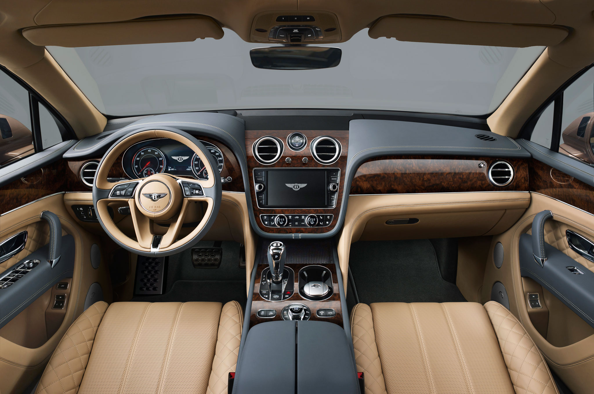 2017 Bentley Bentayga Interior Preview