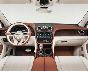 2017 Bentley Bentayga Luxury Interior