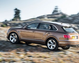 2017 Bentley Bentayga Performance Test